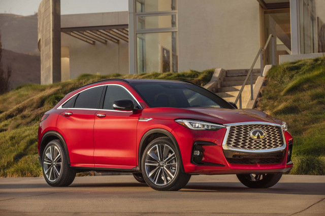 Special FX: 2022 Infiniti QX55 SUV honors crossover coupe past