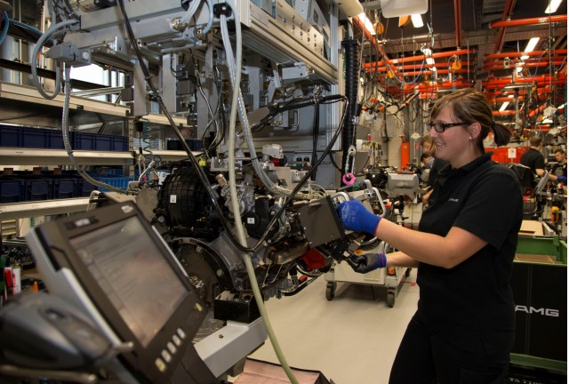 Inside AMG's Affalterbach engine assembly plant