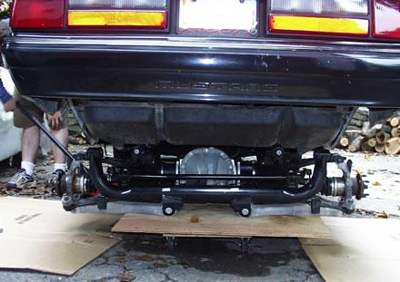 99 03 Irs Swap Into Fox Body Mustang