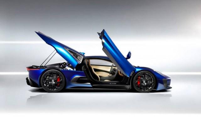 Jaguar C-X75 concept car
