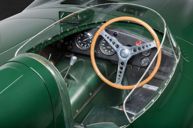 Jaguar D-Type XKD 510 - Mossgreen auction photos