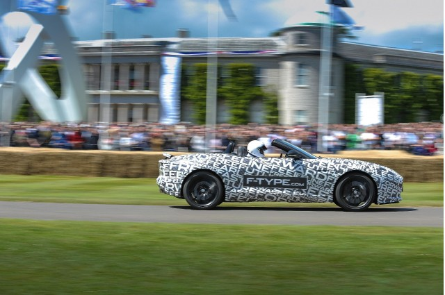 Jaguar F-Type at the Goodwood Festival of Speed