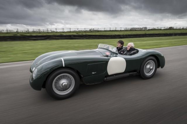 Jaguar Heritage Racing at Mille Miglia 2013.