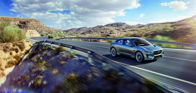 Jaguar I Pace Concept, 2016 Los Angeles Auto Show