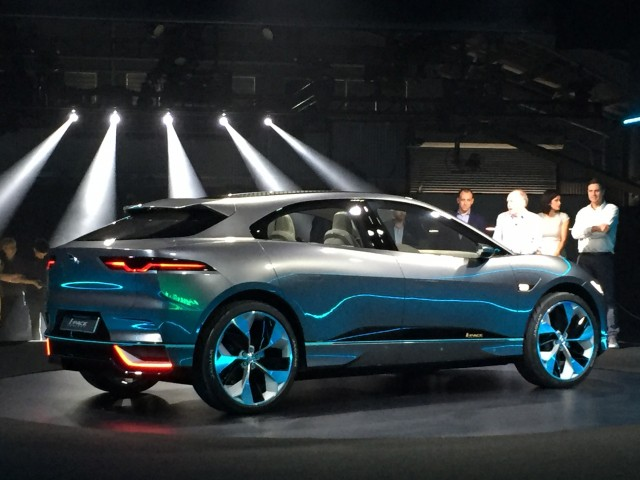 Jaguar I Pace Electric Suv Being Built Now Europe Launch This Year