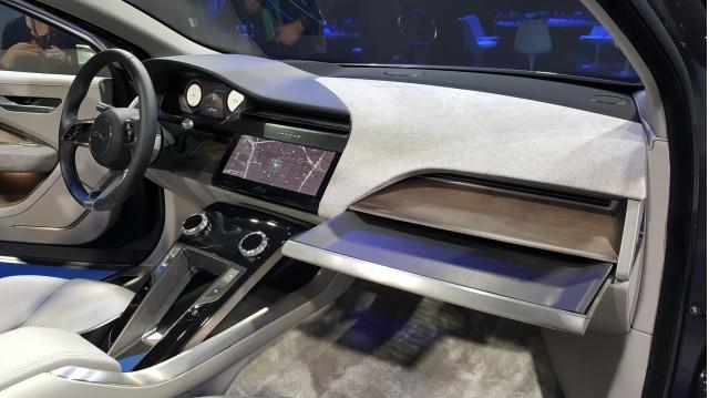 Jaguar I-Pace electric concept at LA Auto Show: video walkaround
