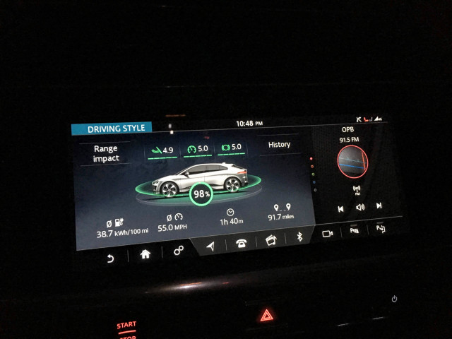 Jaguar I-Pace road trip