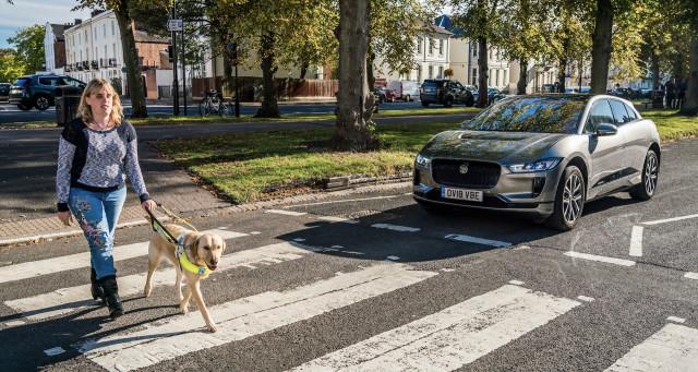 Jaguar I-Pace Audible Vehicle Alert System