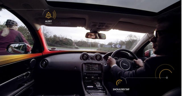 Jaguar Land Rover Bike Sense bicycle and motorcycle detection system