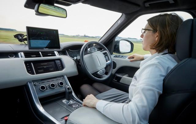 Jaguar Land Rover self-driving prototype