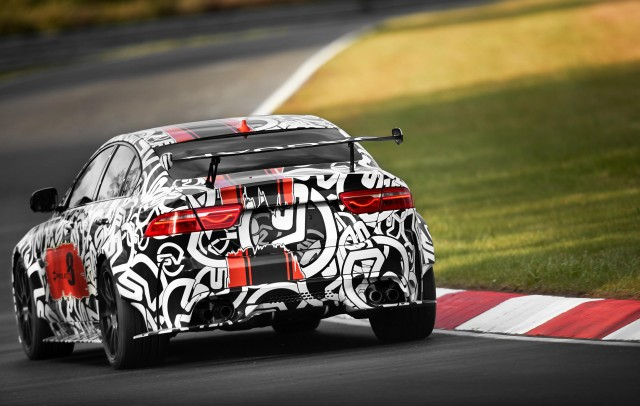 Jaguar Xe Sv Project  Teased Ahead Of  Goodwood Festival Of Speed