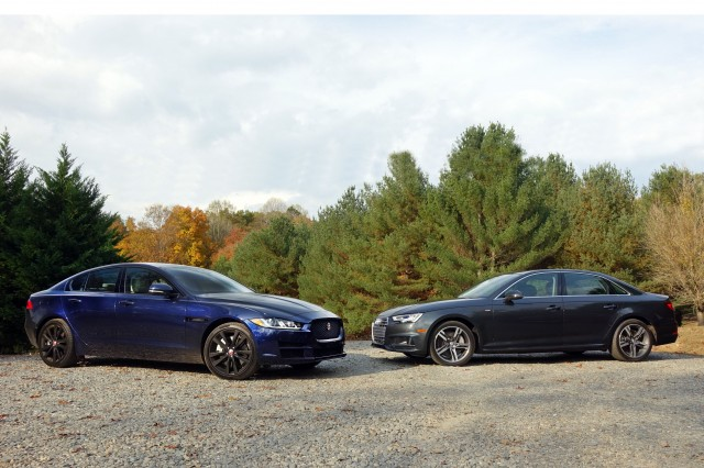 Jaguar Xe Vs Audi A4 A Luxury Compact Confrontation