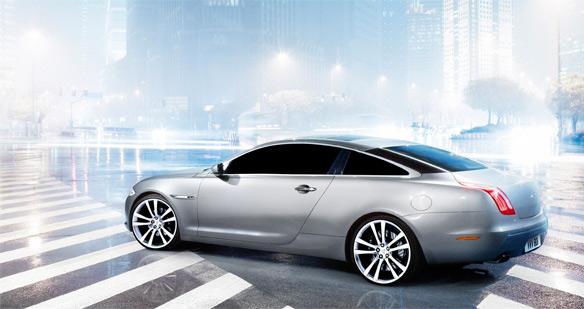 Cleverl Photochoppers Have Created This 2011 Jaguar XJ Coupe Out Of Thin  Pixels  But