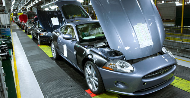 Jaguar has had to cut production several times in the past months as sales plummet
