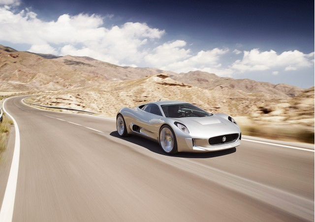 Exceptional 2010 Jaguar C X75 Concept, Released At 2010 Paris Motor Show