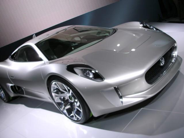 2010 Jaguar C-X75 Concept live photos