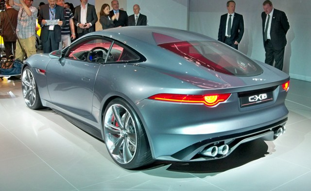 2011 Jaguar C-X16 Concept live photos