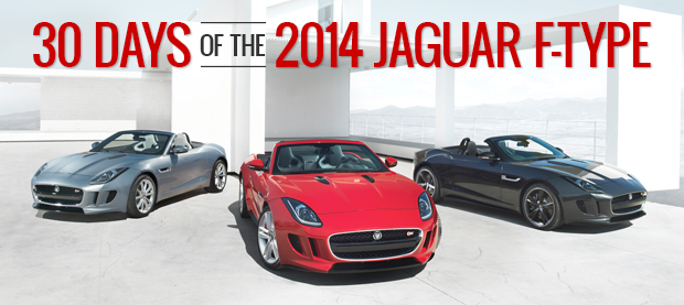30 Days of the 2014 Jaguar F-Type