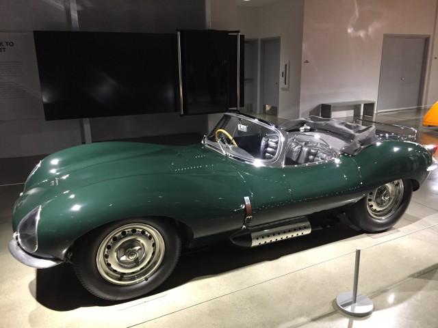 Steve McQueen's Jaguar XKSS, Petersen Museum
