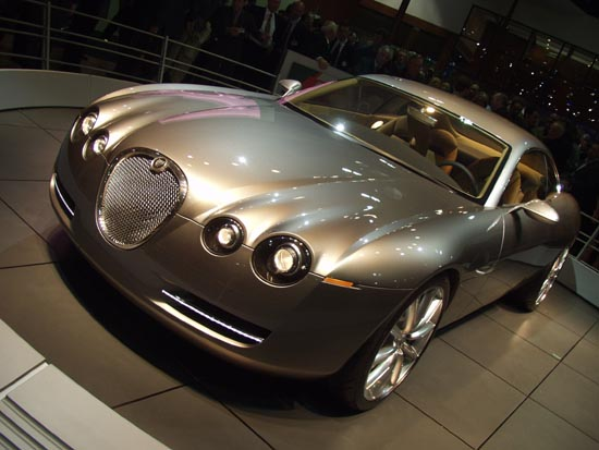 Jaguar R Concept Frankfurt 2001