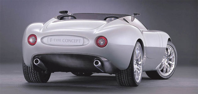 Jaguar First Previewed A Lightweight Roadster Back In 2000 With The F Type  Concept Car