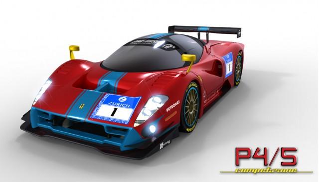 James Glickenhaus Ferrari P4/5 Competizione rendering
