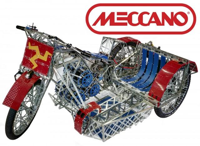 James May Meccano motorcycle