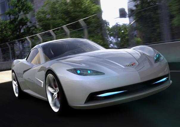 James Robbins' C7 Corvette interpretation