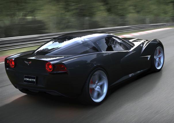 Rendered: Artist Interprets Chevrolet's Next-Gen Corvette