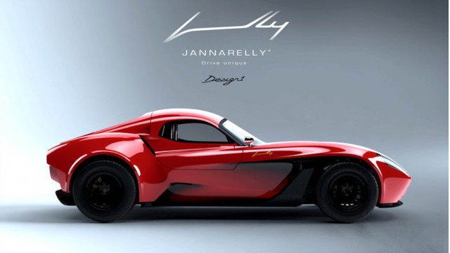 Jannarelly Design-1 with carbon fiber hard-top
