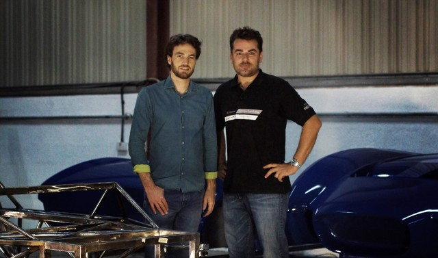 Anthony Jannarelly (left) and Frederic Juillot