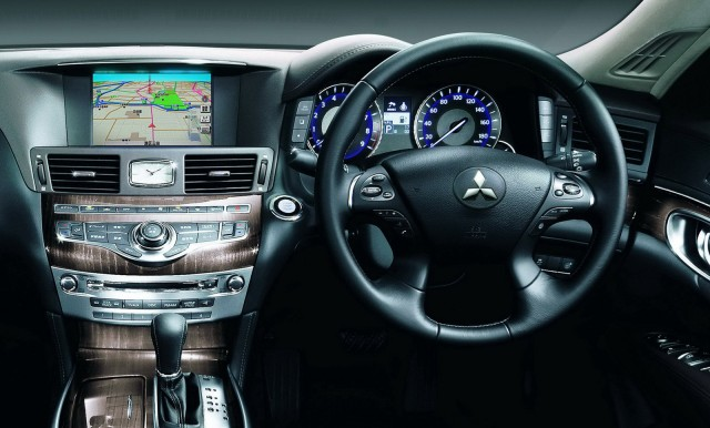 Japanese-market Mitsubishi Proudia is a rebadged Infiniti M