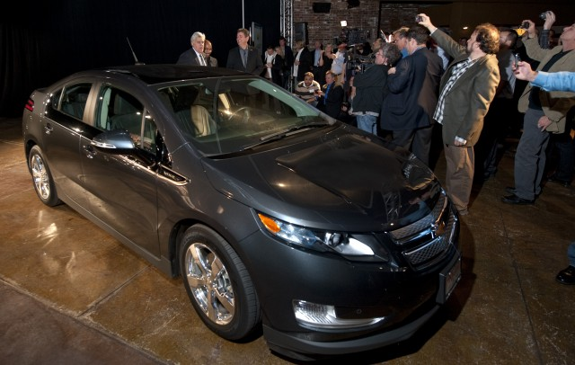 Jay Leno Celebrates 11000 MIles In His Chevrolet Volt
