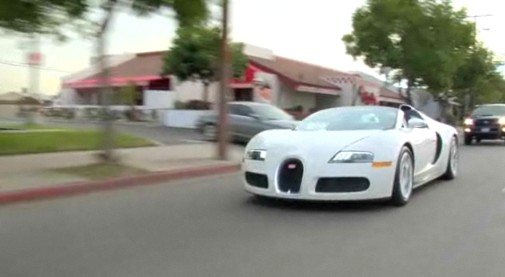 Video: Where Does Jay Leno Go After Driving A Bugatti Veyron? on