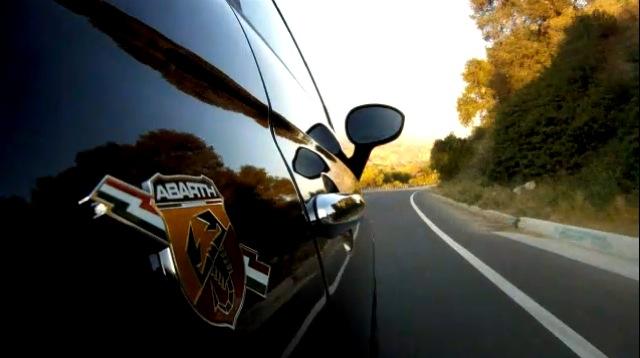 Jay Leno drives the Fiat 500 Abarth