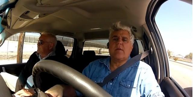 Jay Leno Drives Via Vtrux