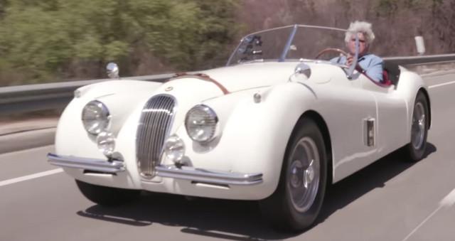 Jay Leno's 1954 Jaguar XK120