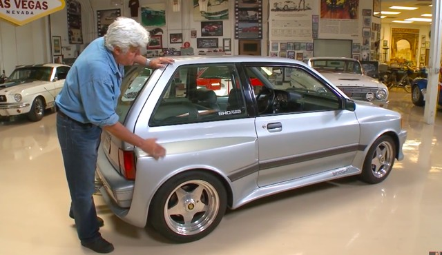 Jay Leno tests the wild Ford Festiva-based Shogun
