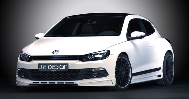 je design takes on the vw scirocco coupe. Black Bedroom Furniture Sets. Home Design Ideas