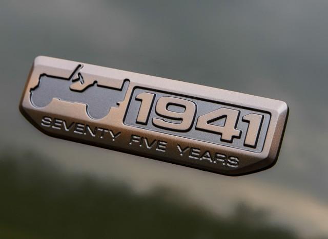 Jeep 75th Anniversary Badge