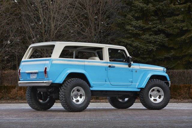 Jeep Chief concept for Moab Easter Jeep Safari, 2015