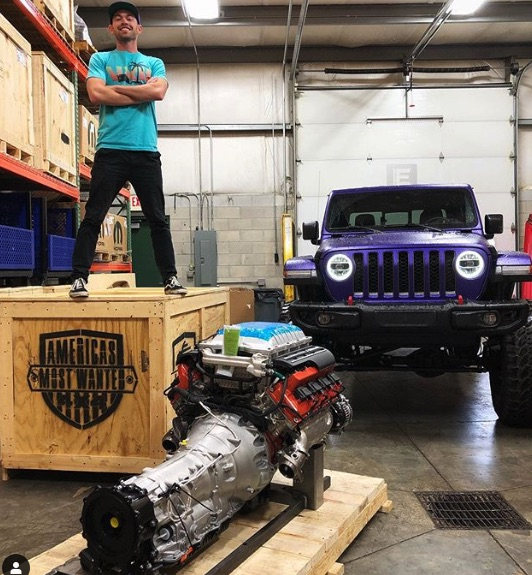 Madman plans to drop 1,000-hp Hellephant V-8 in Jeep Glaidatior