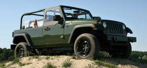 Jeep Mobilizes Production J8 Military Wrangler