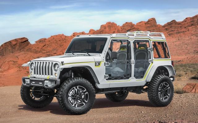 2017 Jeep Concept Vehicles >> Easter Jeep Safari Concepts Ford Ranger Production Jaguar E Type
