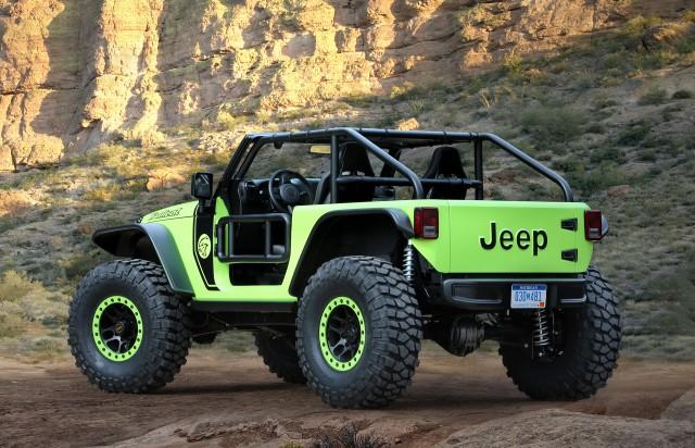Jeep Trailcat concept, 2016 Easter Jeep Safari