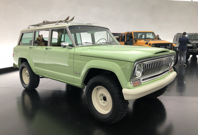 Jeep Wagoneer Concept >> Jeep Brings Basket Of Concepts For 2018 Easter Safari