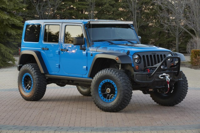 Jeep Wrangler Maximum Performance
