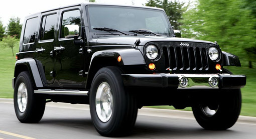 Jeep Wrangler Unlimited with 6.4-liter Hemi V-8 power