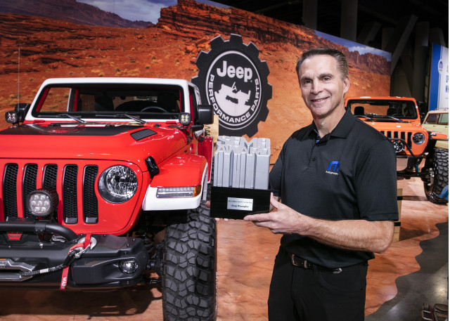 Jeep Wrangler wins award at SEMA