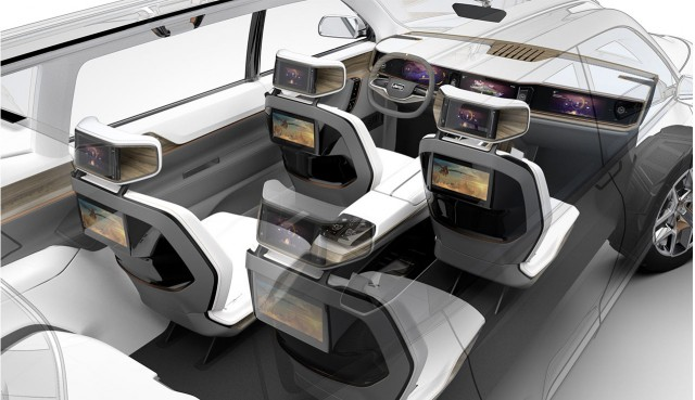 Jeep Yuntu concept car, 2017 Shanghai auto show